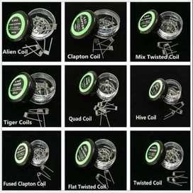 Alambre - 10 Resistencias Flat Twisted / Alien / Tiger / Clapton - Rba Rda Rta