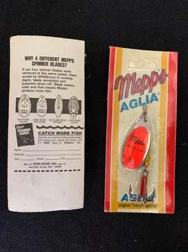 Cucharas de pesca marca Mepps originales selladas