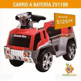 CARRO A BATERIA ZV119B