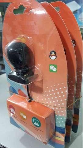 Micrófono con clip para cámaras digitales y celulares /Jack 3.5MM