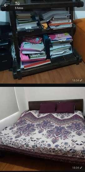 Venta cama de 2x2 mesa tv, cuadro, casa perro, árbol navideño, mesa para planchar, cama nido, mesa centro sala
