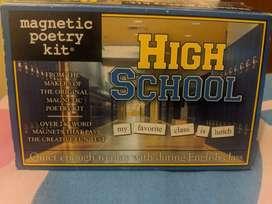 Palabras magnéticas en inglés