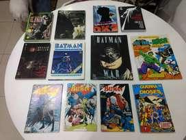 Colección completa cómics Batman DC Marvel