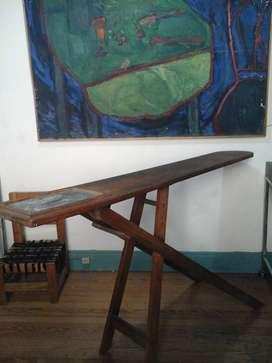 Tabla De Planchar Antigua Vintage
