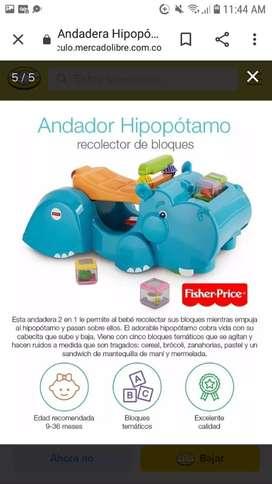 Andador fisher price