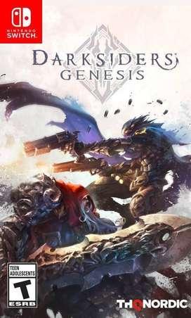 Nintendo Switch Darksiders Genesis Nuevo y Sellado