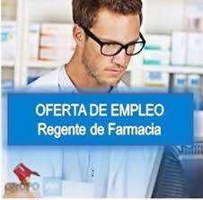 se requiere regente de farmacia o auxiliar con experiencia y recomendación laboral.