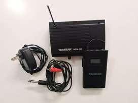 Vendo sistema inhalambrico in ears tasktar