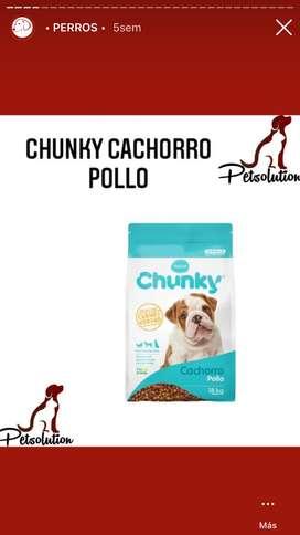 Chunky cachorro POLLO 18KG
