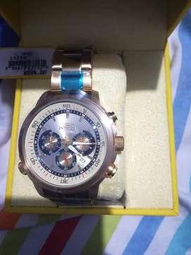 Reloj Invicta Gold #modelo 19240