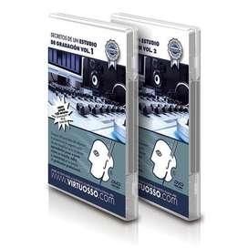 Curso de Estudio de grabación en DVD
