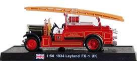 Carro De Bomberos 1934 Leyland Fk-1 1:50 Diecast Modelismo
