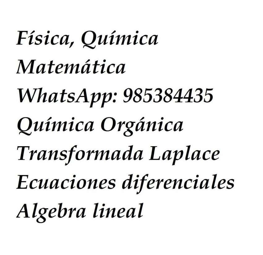EJERCICIOS MATEMATICAS,FISICA,QUIMICA WHASAT 0