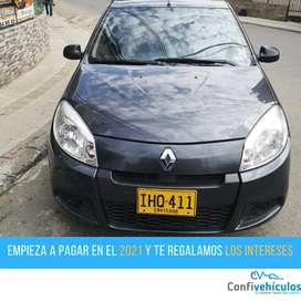 Renault Sandero Authentique 2016  ¡Págalo en el 2021 con cuotas bajas!