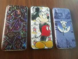 Case protector Batman, Avengers y Micky Mouse  para Samsung M20