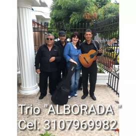 """Nuestro trío """"ALBORADA """""""