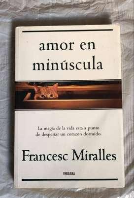 amor en minúscula - Francesc Miralles