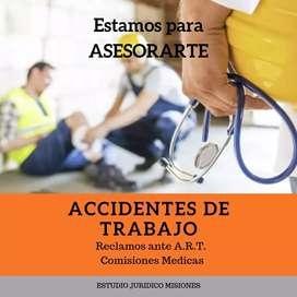 ESTUDIO JURÍDICO DE ACCIDENTES LABORALES - A.R.T.