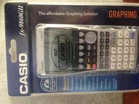 Casio Fx 9860GII Calculadora Grafica para bachillerato internacional