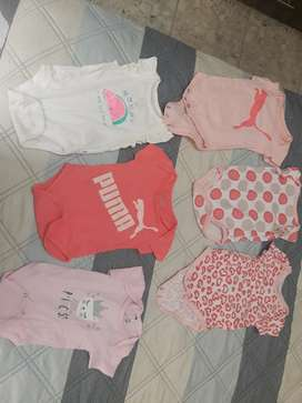 Lote de ropa 0-6 meses