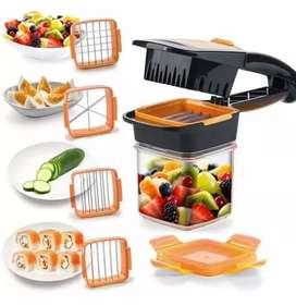 Picatodo quick cortar picar verduras alimentos nicer dicer ayudante de cocina