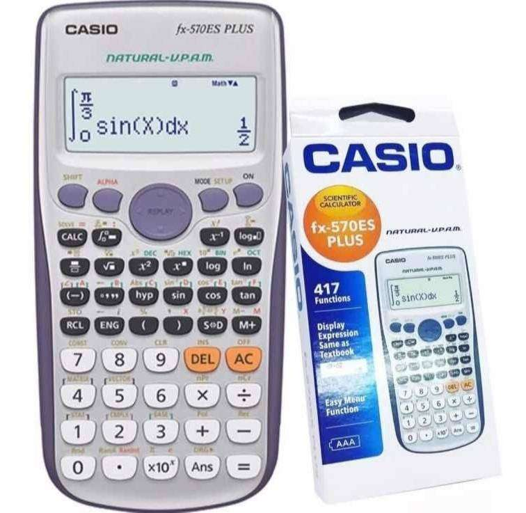 Calculadora Científica Casio Fx-570es Plus Nueva Original 0
