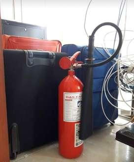 Extintor rojo