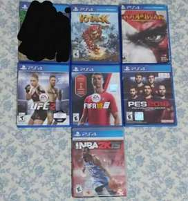 Vendo Juegos PS4 Flamantes