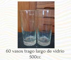 Vasos trago largo de vidrio 500cc POR MAYOR