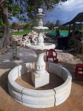 Fuentes, Obras y Tallas en Piedra Barichara