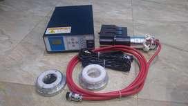 Maquina selladora ultrasonido (caucho tapabocas)