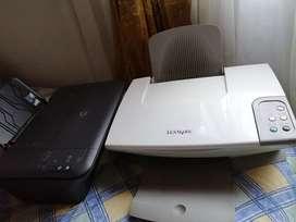 Impresora hp y lexmark