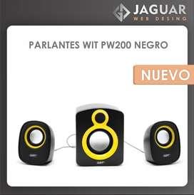 PARLANTES WIT PW200 NEGRO