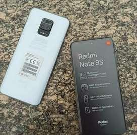 Xiaomi Note 9S de 4 de Ram y 64 gigas