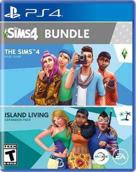 The Sims 4 Bundle Nuevo y Sellado PS4