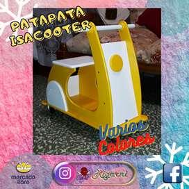 Patapata Moto ISACOOTER De Madera Mdf