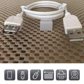 USB 2.0 Cable de sincronización de datos de alta velocidad de Impresora compatible para PC, portátil Notebook, MacBook