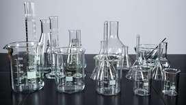 materiales de vidrio para laboratorio