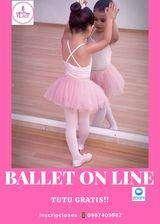 clases de Ballet modalidad on line y presencial en chicky Dance
