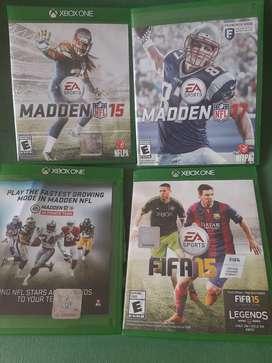 Se Vende juegos de Xbox One