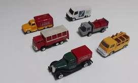 Camioncitos coleccion coca cola