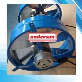 Extractor Forzador de aire 20cm Anderson
