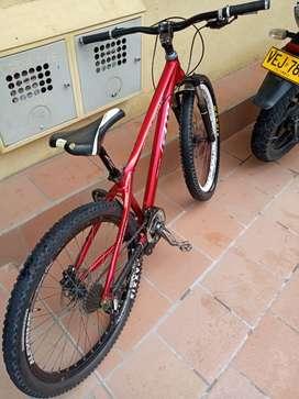 Bicicleta Gw Marco Four X Rojo