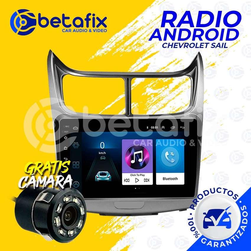 RADIO ANDROID PARA CHEVROLET SAIL GPS BT USB WIFI BETAFIX DESDE 0