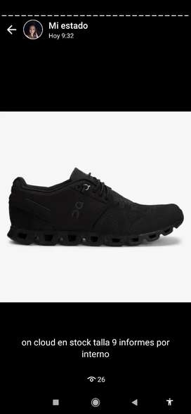 zapatos on cloud running shoes