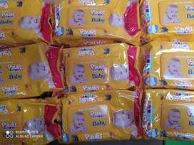 Pañitos húmedos 3400 solo por cajas la caja trae 24  paquetes y vale 81600