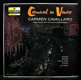 disco LP de CARNIVAL IN VENICE - CARMEN CAVALLARO