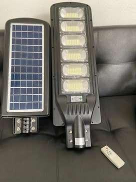 Lámpara solar 300w todo en uno con control