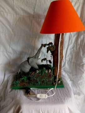 venta de lamparas en madera tallados en madera