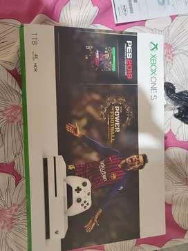 Xbox one s 1 tera a estrenar 45000 escucho oferta